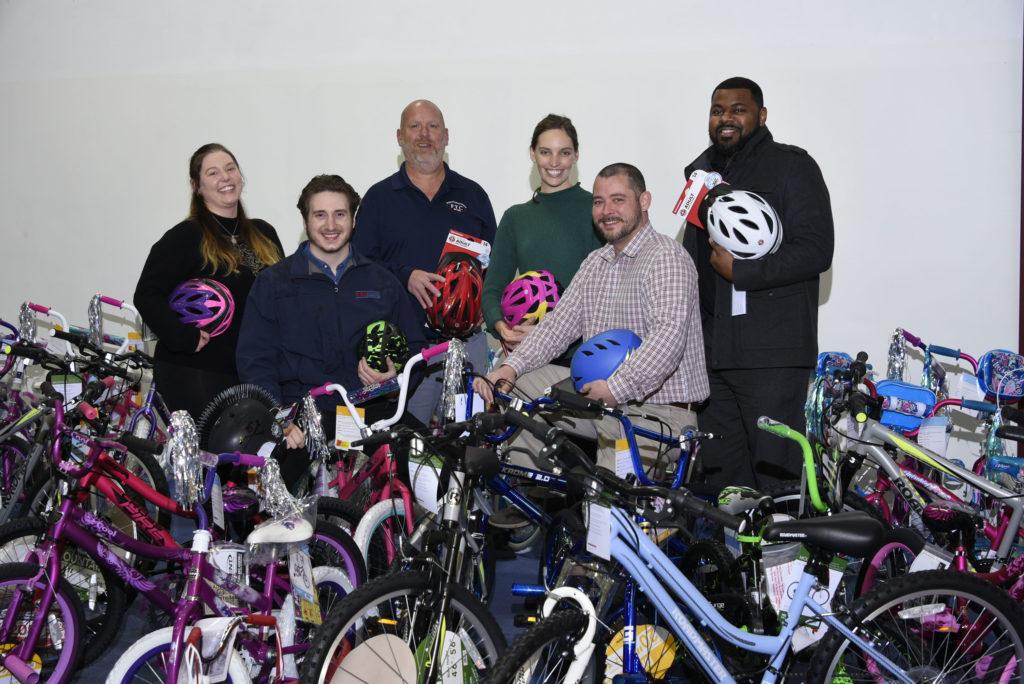 KBE donates 40+ bikes to Handlebars for the Holidays