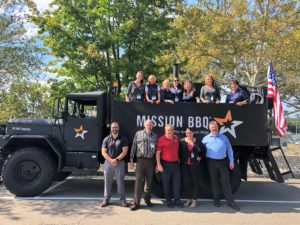 Mission BBQ Lunch for Veterans